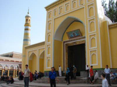 Мечеть Ид Ках, Кашгар, Китайский Синьзянь