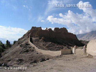Ancient fortress in Tashkurgan, Chinese Xingjian