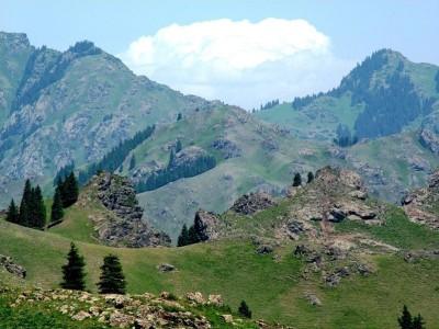 Пейзажные районы близ Урумчи