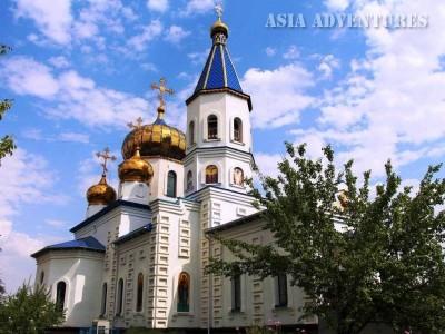 Церковь на территории Байконура