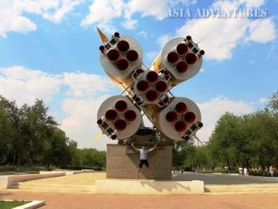 Ракета на Байконуре
