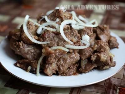 Kavardak, National cuisine of Kazakhstan
