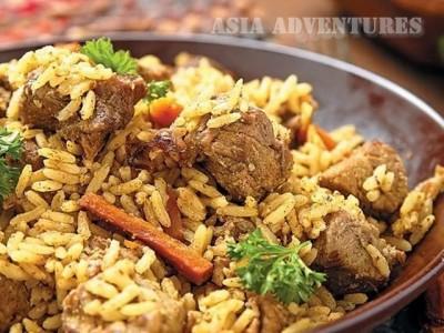 Plov, National cuisine of Kazakhstan