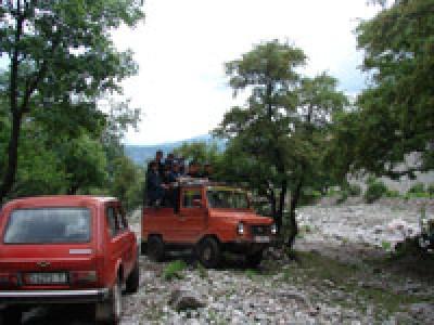 По дороге к верхнему Арсланбобскому водопаду, Киргизстан