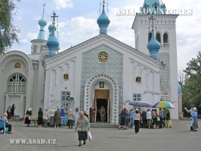 Церковь в Нарыне, Киргизия