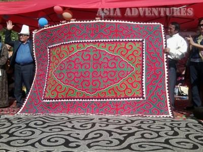 Декоративно — прикладное искусство Кыргызстана, ковры