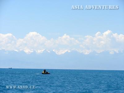 Озеро иссык-куль, Северный берег, Киргизстан