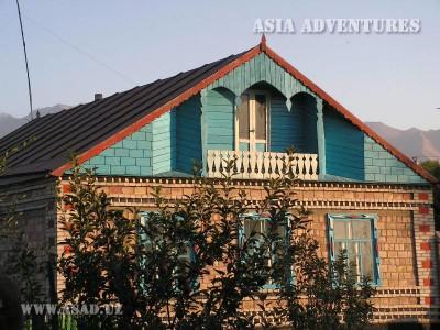 Каракол. Типичный жилой дом