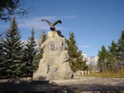 Каракол. Мемориальный памятник Прежевальскому. Кыргызстан