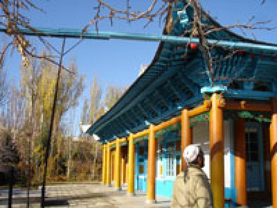 Дунганская мечеть, Караколь, Кыргызстан