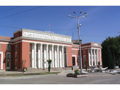 The building of Ministry, Dushanbe
