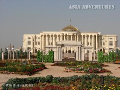 Президентский дворец в Душанбе