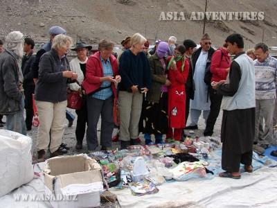 население поселка Ишкашим, Таджикистан
