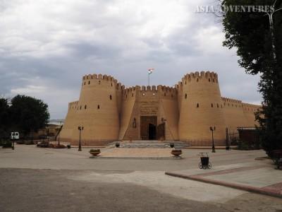 fortress, Khujand, Tajikistan