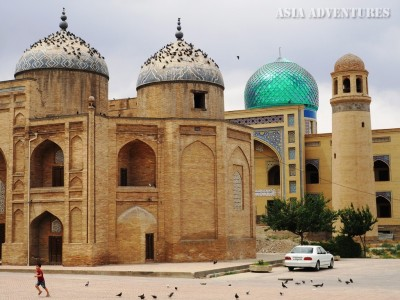 mosque, Khojent, Tajikistan