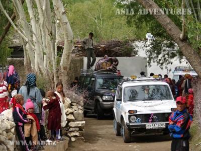 Свадебный кортеж в Лянгаре