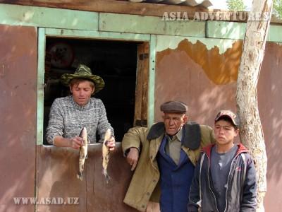 Жители Лянгара
