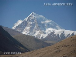 Karl Marks Peak  (6726 m)