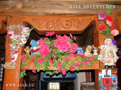 Интерьер типичного Памирского дома