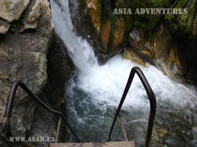 Водопад источника Фатима-Биби