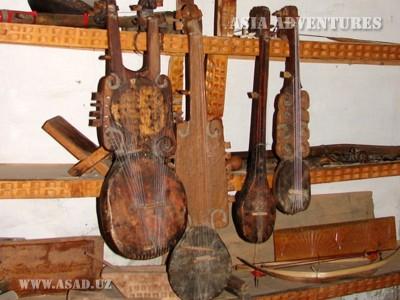 Национальные памирские музыкальные инструменты