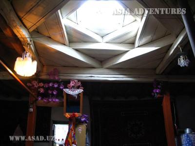 Световое окно в Памирском доме