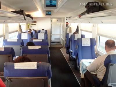 Поезд Афросиаб, вагон бизнес-класса