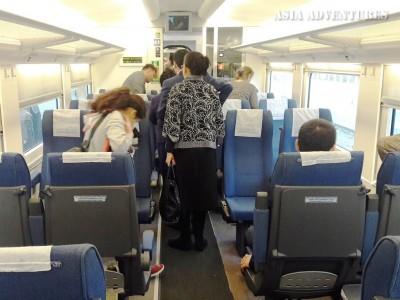 Поезд Афросиаб, вагон эконом-класса