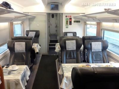 Поезд  Афросиаб, вагон ВИП-класса