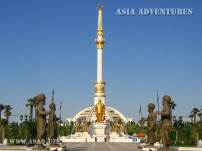 Sights of Turkmenistan