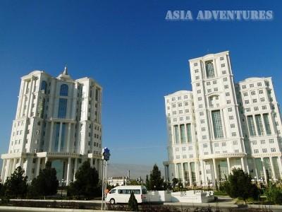 Жилые дома, Ашгабад, Туркменистан