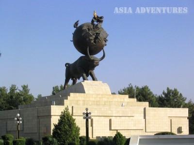Monument to victims of the earthquake, Ashgabat, Turkmenistan