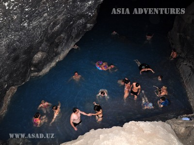 lake in the Cave Ata Cave