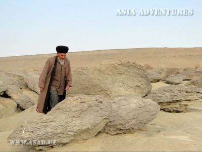 Каньоны Янгикала, Туркменистан