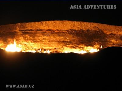 Darvaza gaz crater, Turkmenistan