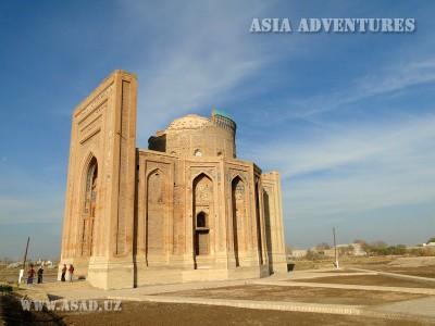 The Mausoleum of Tyurabek Khanum, Old Urgench, Turkmenistan