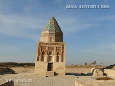 Mausoleum of Il Arelana, Old Urgench, Turkmenistan