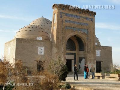 The Mausoleum of Nadzhemetush AL Kubra, Old Urgench, Turkmenistan