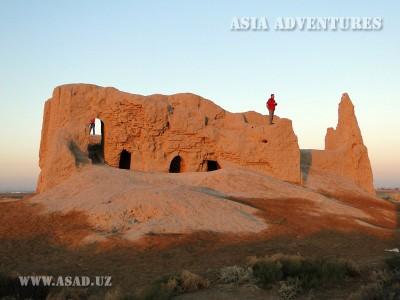 Small Fortress Kiz-Kala, Merv, Turkmenistan