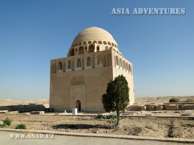 The Mausoleum of Sultan Sanjar, Merv, Turkmenistan