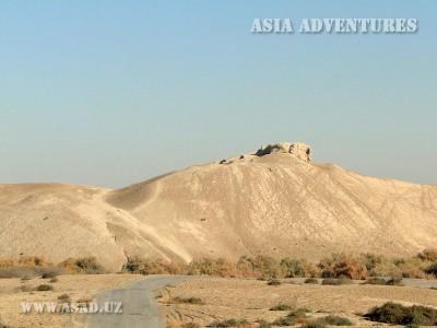 Fortress of Erk Kala, Merv, Turkmenistan