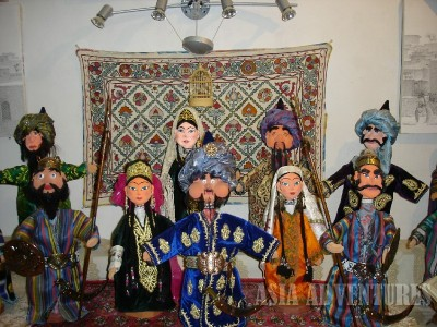 Музей-мастерская бухарских кукол