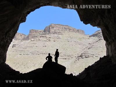 The biggest caves of Uzbekistan