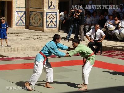 Kurash wrestling