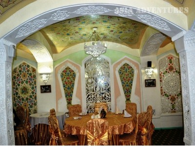 Lyabi house restaurant restaurants in bukhara for Atlas house uzbek cuisine