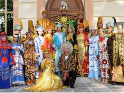 The Theatre of Historical Costume 'El Merosi' in Samarkand