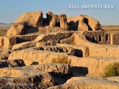 Toprak-kala fortress (Earth city)