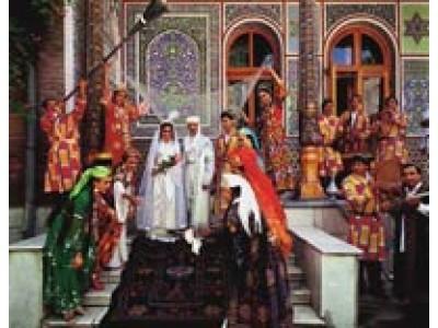 Узбекская свадебная церемония, Ташкент, Узбекистан