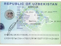 Uzbekistan visa information
