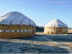 Юртовый лагерь Арал